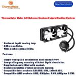 Thermaltake Water 3.0 Extreme Enclosed Liquid Cooling System
